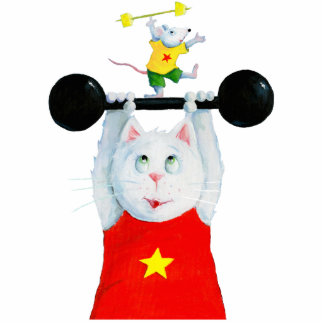 Fitness Cat and Mouse Cut Outs