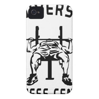 FITNESS CENTer Case-Mate iPhone 4 Case