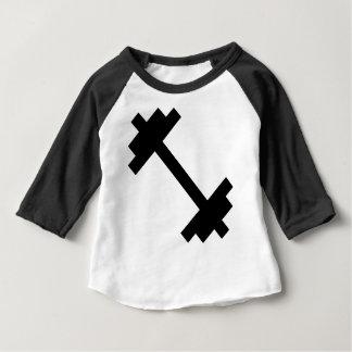Fitness Center Dumbbell Baby T-Shirt
