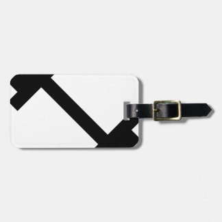 Fitness Center Dumbbell Luggage Tag