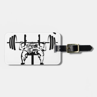 FITNESS CENTer Luggage Tag