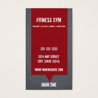 Fitness Class Business Card 10 Class Pass Card