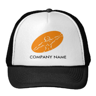 Fitness Customizable Hat - Orange
