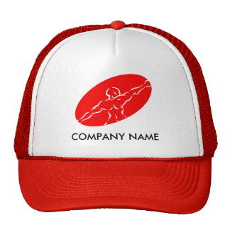 Fitness Customizable Hat - Red