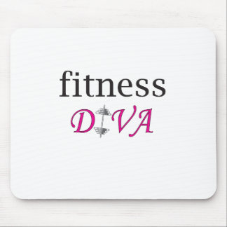 Fitness Diva Mouse Pad