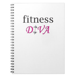 Fitness Diva Notebook