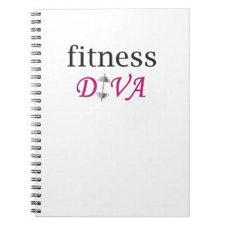 Fitness Diva Notebooks