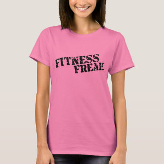 Fitness Freak Ladies Pink Long Sleeve T-Shirt
