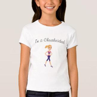 Fitness Girl Cartoon T Shirt
