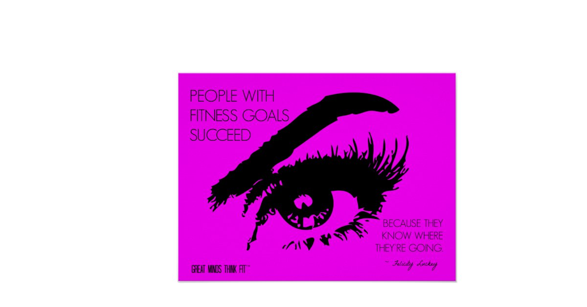 Fitness Posters With Quotes Fitness Goals Eye See Quote