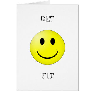 fitness happy card