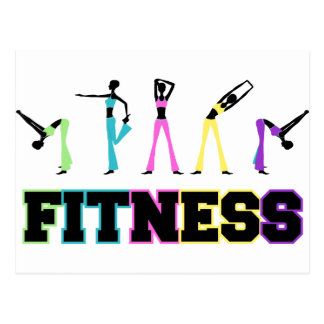 Fitness in Word and Deed Post Cards