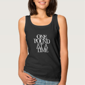 Fitness Inspiration: One Pound at a Time Singlet
