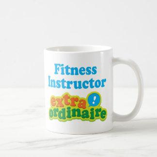 Fitness Instructor Extraordinaire Gift Idea Coffee Mugs