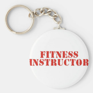 Fitness Instructor/Red Keychains