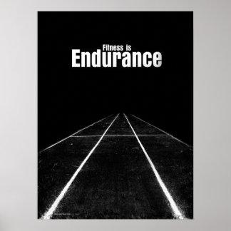 Fitness Is - Endurance Print