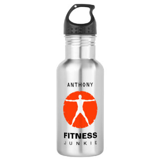Fitness Junkie Body Madness 18 Oz Water Bottle