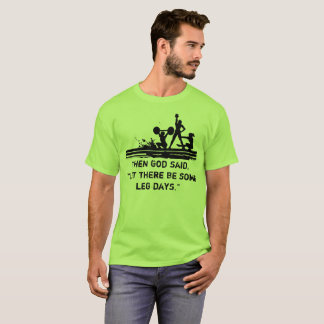 Fitness Leg Day T-Shirt