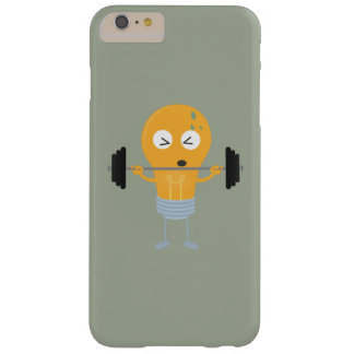 Fitness light bulb with weight barely there iPhone 6 plus case
