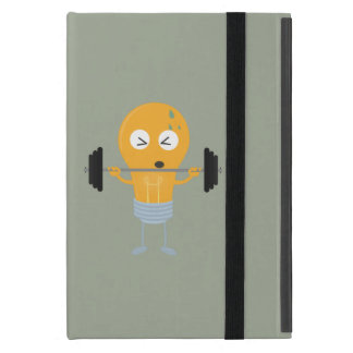 Fitness light bulb with weight iPad mini case