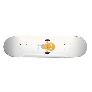 Fitness light bulb with weight Z1zu3 21.6 Cm Skateboard Deck
