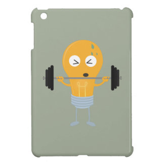 Fitness light bulb with weight Z1zu3 Case For The iPad Mini