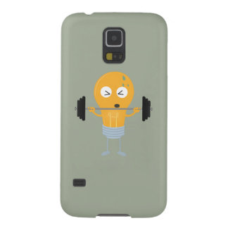 Fitness light bulb with weight Z1zu3 Galaxy S5 Covers