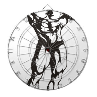Fitness Man Muscles Dartboard