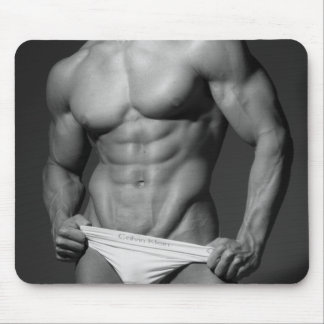 Fitness Model Mousepad