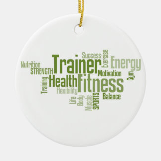Fitness/Personal Trainer Ornament