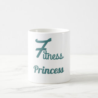 Fitness Princess coffee mug
