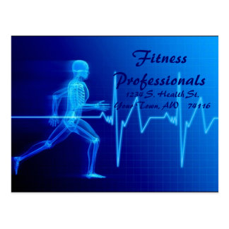 Fitness Professionals post card