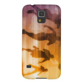 Fitness Technology and Sports Monitoring Galaxy S5 Cover
