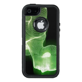 Fitness Technology Science Lifestyle as a Concept OtterBox Defender iPhone Case