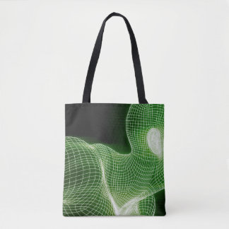 Fitness Technology Science Lifestyle as a Concept Tote Bag