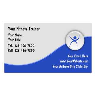 Fitness Trainer Business Cards