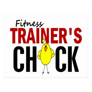 Fitness Trainer's Chick Post Cards