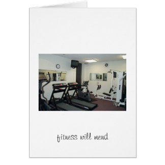 fitness will mend card