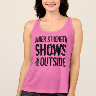 Fitness Workout Shirt With Motivational Quote