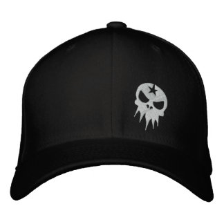 Fitted Ominous Apparel Cap Embroidered Baseball Caps