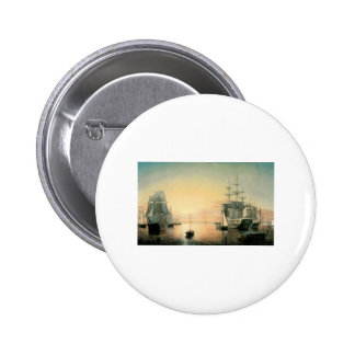 Fitz Hugh Lane Boston Harbor Buttons