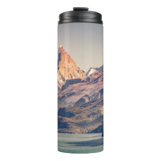 Fitz Roy and Poincenot Andes Mountains - Patagonia Thermal Tumbler