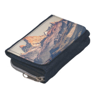 Fitz Roy and Poincenot Andes Mountains - Patagonia Wallets