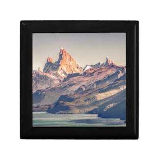 Fitz Roy and Poincenot Mountains Patagonia Gift Box
