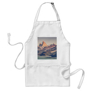 Fitz Roy and Poincenot Mountains Patagonia Standard Apron