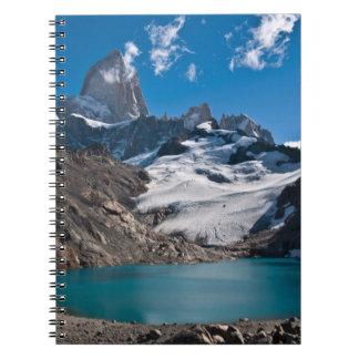 Fitz Roy Spiral Notebook