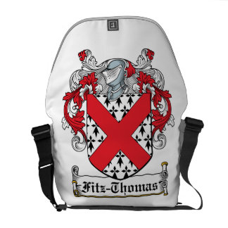 Fitz-Thomas Family Crest Courier Bags