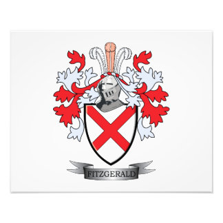 Fitzgerald Coat of Arms Art Photo
