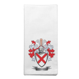 Fitzgerald Coat of Arms Napkin