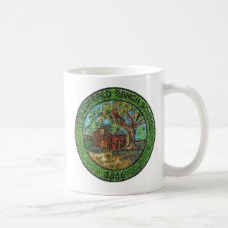 Fitzgerald Ranch School, 1866, Pinole California Coffee Mug